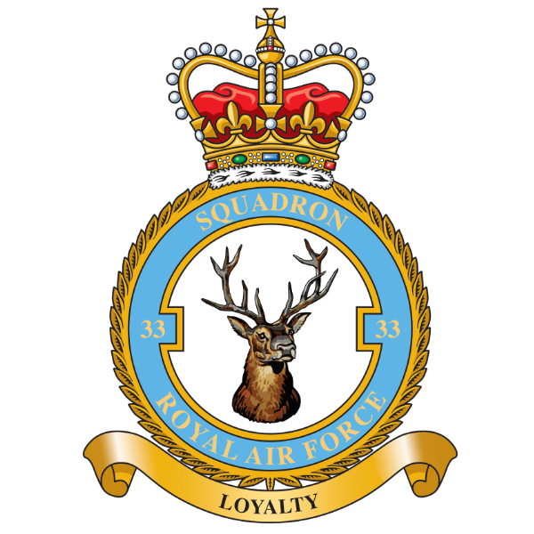 33 Squadron Royal Air Force
